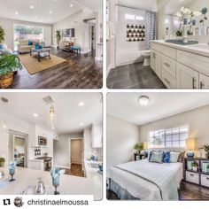Are you ready for this? (via ・・・ Yay season 5 of premieres tonight at This is my favorite season yet! Amazing transformations and the birth of Tonight watch us fix and flip this home in Whittier, Ca. Christina El Moussa, Flip Or Flop, Amazing Transformations, Investment Property, Hgtv, Staging, Kitchen Remodel, Bathtub, Bathroom