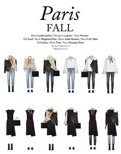 What To Wear To Paris In The Fall: A Capsule Wardrobe For Paris In The Fall how to dress like a french woman over 50 - Woman Dresses Paris Outfits, Fall Outfits, Fashion Outfits, Fashion Trends, French Capsule Wardrobe, French Wardrobe Basics, Parisian Wardrobe, Fall Travel Wardrobe, 10 Item Wardrobe