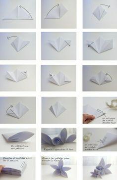 Origami falten - Blume, Sterne und Tiere als Deko im Kinderzimmer |  Minimalisti.com