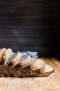 Seeded Multigrain Gluten Free Sourdough Bread Vanilla And Bean gluten free sourdough bread recipe - Gluten Free Recipes Gluten Free Baking, Gluten Free Recipes, Bread Recipes, Snack Recipes, Snacks, Sourdough Recipes, Fall Recipes, Gluten Free Sourdough Bread, Sourdough Biscuits