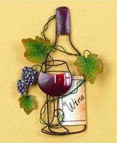 Resultado De Imagen Para Porta Vinos Hierro Pared Wine Pinterest And Pine
