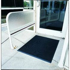 "Finger-Tip Scraper Mat Size: 36"" x 72"" by Crown. $89.10. Includes one floor mat.. Economical mat works great with medium traffic.. Beveled edges reduces tripping hazard.. Easy to clean and maintain.. Scrapes dirt and moisture from shoes.. FTS672 BLA Size: 36"" x 72"" Features: -Finger-tip indoor / outdoor scraper mat.-Material: Molded rubber.-Works great with medium traffic.-Scrapes dirt and moisture from shoes.-Beveled edges reduces tripping hazard.-Easy to clean and maintain. ..."