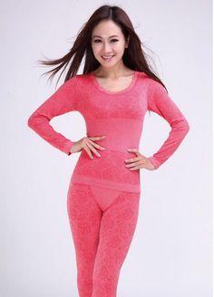 Women Winter Thermal Underwear women's thermal underwear Set
