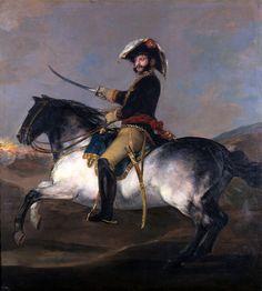 """El cuadro """"El general José de Palafox, a caballo, 1814"""" de Francisco de Goya (1746-1828)"""