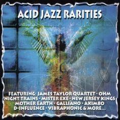 Various Artists - Acid Jazz Rarities - album cover