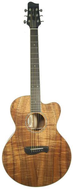 Beautiful Tacoma Koa Kahuna Guitar