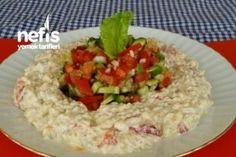 Yoğurtlu mayonezli mor lahana salatası. | Salata tarifi | Pinterest