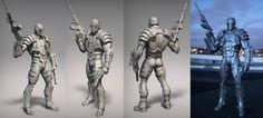 ArtStation - Deadshot for DC collectibles, david Giraud