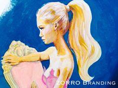 Proyecto de diseño e ilustraciones de Zorro Branding.