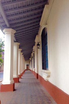 Corredor de la Catedral de Asunción-Paraguay