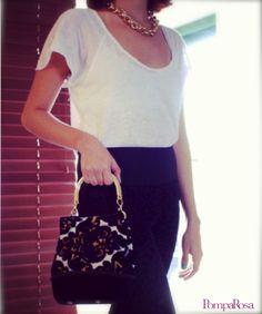Rocalla fancy/bucketbag/handbag/purse/rococo/fashion/madeincolombia