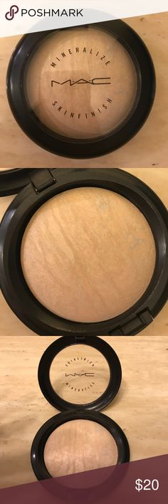 MAC Mineralized Skin Finish MAC Mineralized Skin Finish in Lightscapade. Never used for only watched. Sits in my makeup collection, maybe someone else would get use from it. It's been sanitized and ready for purchase. MAC Makeup Face Powder