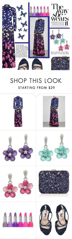"""""""13th November 2017"""" by eternal-collection on Polyvore featuring Mary Katrantzou, Kat Von D and Miss KG"""