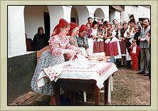 Szanyi costumes; Rábaköz