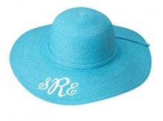 Kids Aqua Floppy Hat $14.95   Perfect for Easter!