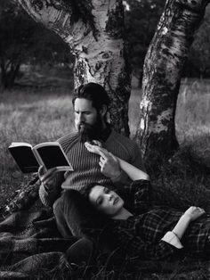 Reading and dreaming...together.