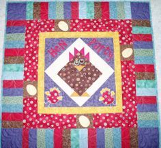 Quilting: Hen Party Chicks