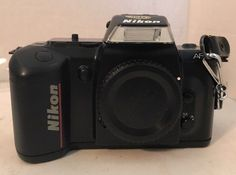 Nikon N4004 SLR Film Camera Body 35mm Af With Strap #Nikon