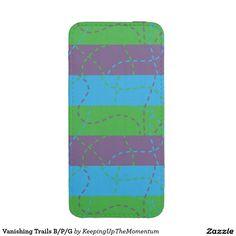 Vanishing Trails B/P/G iPhone 5 Pouch
