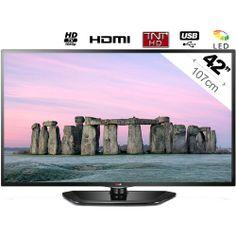 42LN5400 - Téléviseur LED 16/9 - 42'' - 107cm - HDTV 1080p - 2HDMI - USB Multimédia - Ci  - TNT HD - MHL : en vente sur RueDuCommerce