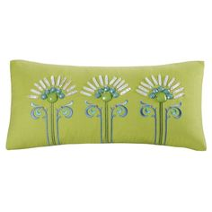This Sardinia Decorative pillow offers a beatiful embroidery pattern that coordinates perfectly with the Sardinia Bedding Collection.
