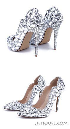Sparkling shoes! Reward your feet now.  #shoes #weddingshoes