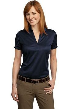 Port Authority® - Performance Fine Jacquard Polo. Lightweight and breathable, this moisture-wicking shirt has a pleasing drape, subtle jacquard texture and an open placket for feminine style.  - Arizona Cap Company - (480) 661-0540 Custom Printed & Embroidered. Visit our website for the colors available and the price.