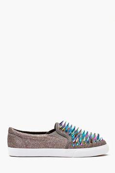 Scrape Spiked Sneaker