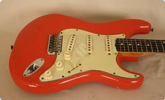 #Fender #Stratocaster #1961 #Fiesta #Red #Guitar #Ten-Guitars #Vintageandrare #vintage #rare #amazing #beautiful