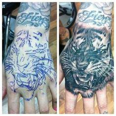 Tiger paw?