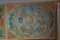 Colour Painting   Madhubani Painting India  Art