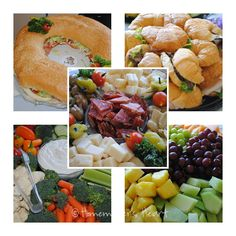 party food- looks so good :)  add sweet tea and some pastries for dessert Yummy Taco, Yummy Food, Taco Sauce, Dip Recipes, Snack Recipes, Snacks, Graduation Food, Party Drinks, Tea Party