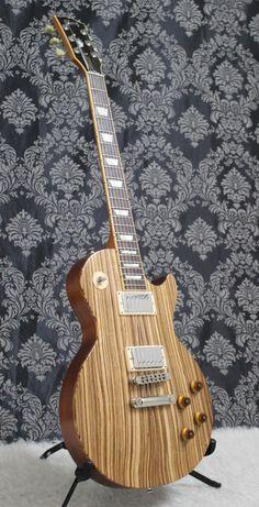 2007 Gibson Les Paul Classic Zebrawood