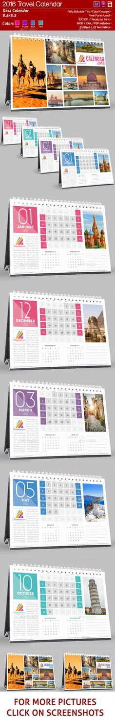 Corporate 12 Page 2016 Desk Calendar by DesignGenisys Four different Colors, Red / Purple / blue / Teal Corporate calendar can be used from any corporate business. Desk Calender, Table Calendar, Calendar Layout, Calendar Design, Calendar Calendar, Stationery Templates, Stationery Design, Print Templates, Business Calendar