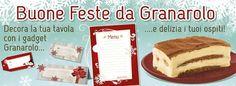 Natale-2014 - decora la tua tavola con i gadget Granarolo!