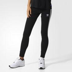 3-STRIPES LEGGINGS - Black
