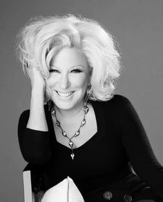 Bette Midler (born December 1, 1945) is an American singer, songwriter, actress, comedian, and film producer.