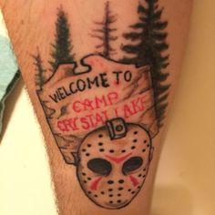 Tattoo camp crystal lake Friday the 13th Jason vorhees