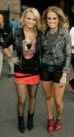 Carrie Underwood and Miranda Lambert debut.