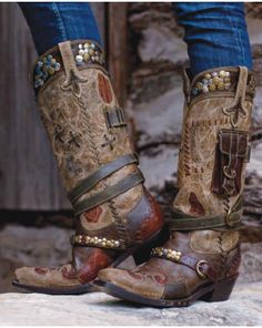 Double D Ranchwear...I need these! They're like cargo boots!