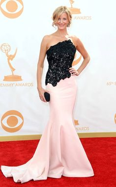 Anna Gunn from 2013 Emmys: Red Carpet Arrivals  In Romona Keveza
