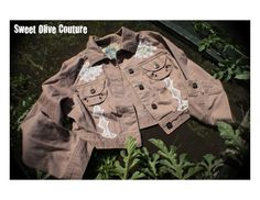 Womens size M one of a kind restyled jacket by SweetOliveCouture, $63.00