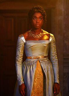 """fuckyeahcostumedramas: """"Lashana Lynch in 'Still Star-Crossed' (2017). """""""