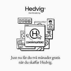 """Hedvig: """"Ditt hem förtjänar det!"""" Congratulations, Instagram"""