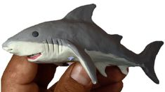 Como hacer un Tiburón de Plastilina / How to make a shark clay