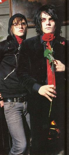 My Chemical Romance ~ Mikey Way and Gerard Way