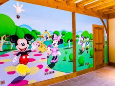 Mickey Mouse Clubhouse Mural Sacredart Murals Jpeg Disney Peel And Stick  Wall Roommates Part 20