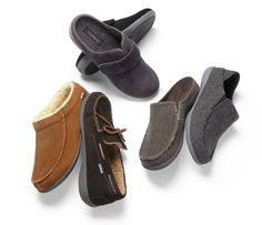 Vionic Slippers for Men! Orthaheel Orthotic Technology provides exceptional comfort and arch support. Great for Men who have foot discomfort from conditions like Plantar Fasciitis.  Get Fast & Free shipping from Orthotic Shop, Free returns and also a 30-day comfort guarantee.