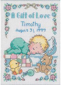 Gift of Love Cross Stitch Kit
