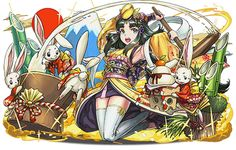 Puzzles And Dragons, Character Concept, Artwork, Anime, Gaming, Characters, Japanese, Poses, Art Production